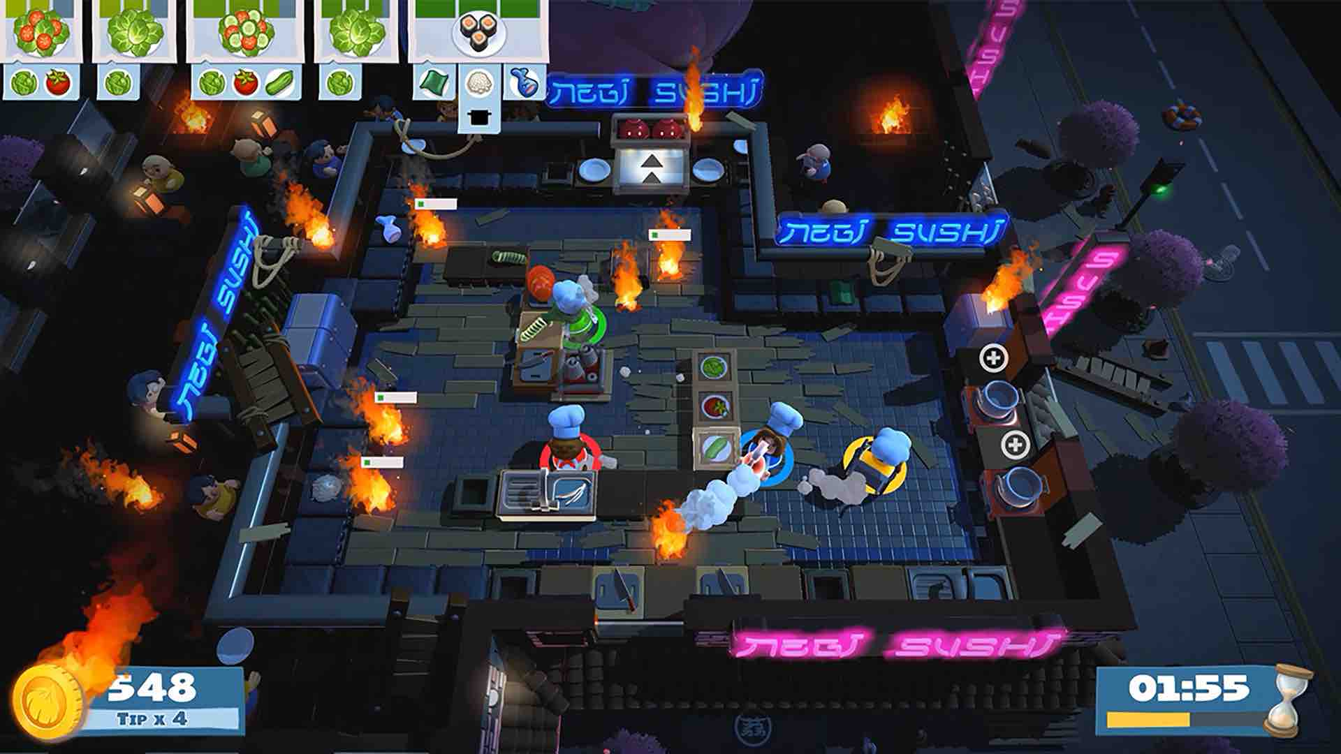 Overcooked 2 E3 2018 Screenshot 1