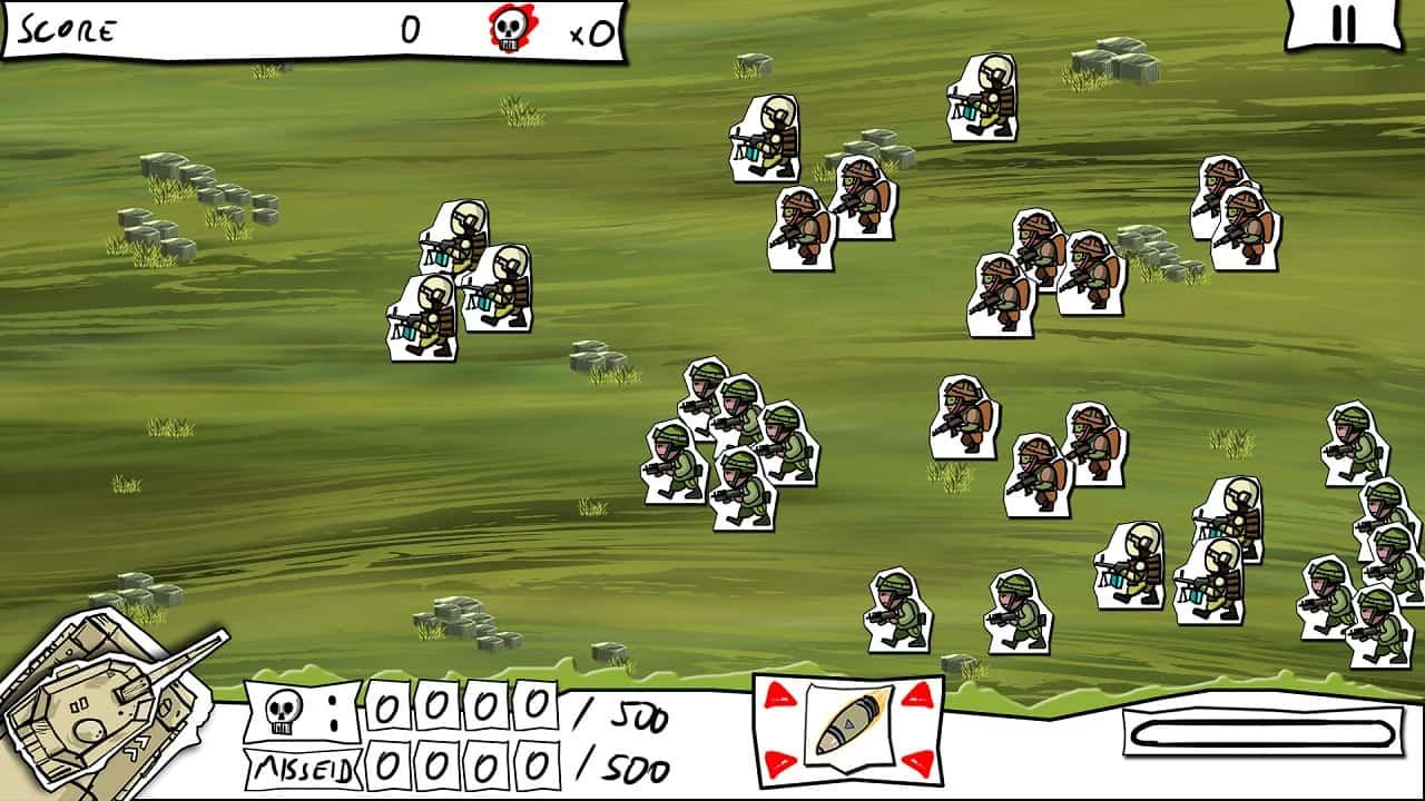 Paper Wars: Cannon Fodder Devastated Review Screenshot 1