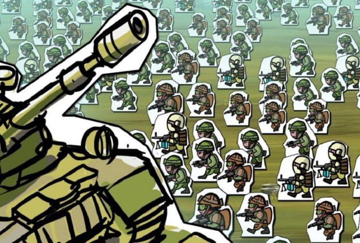 Paper Wars: Cannon Fodder Devastated Review Header