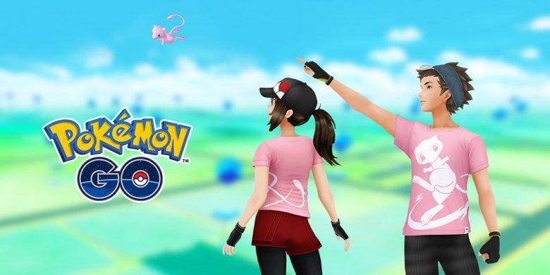 Pokémon GO Mew T-Shirt Image