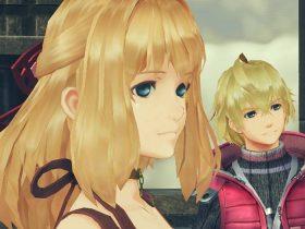 Shulk Fiora Xenoblade Chronicles 2 Screenshot