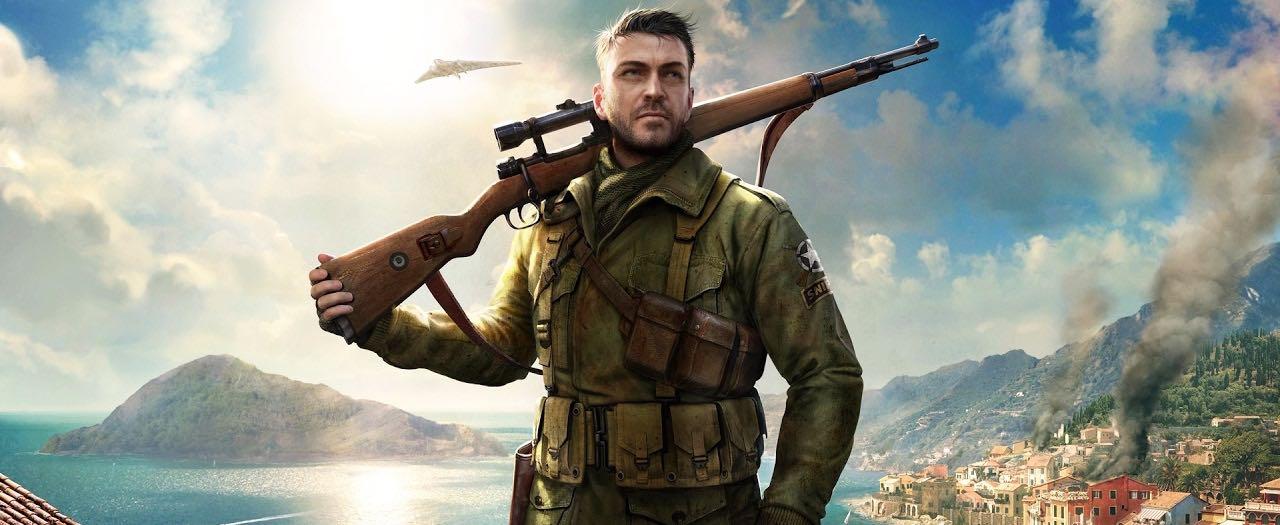Sniper Elite 4 Artwork