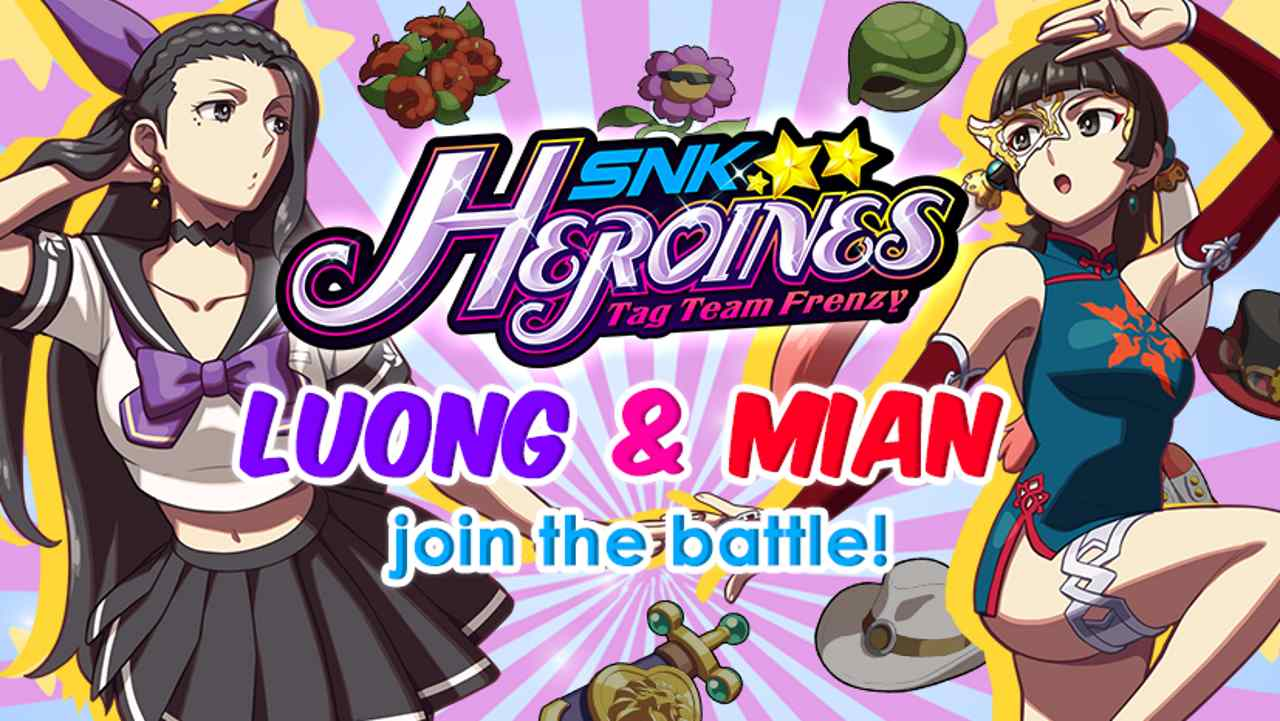 SNK Heroines: Tag Team Frenzy Luong And Mian Image