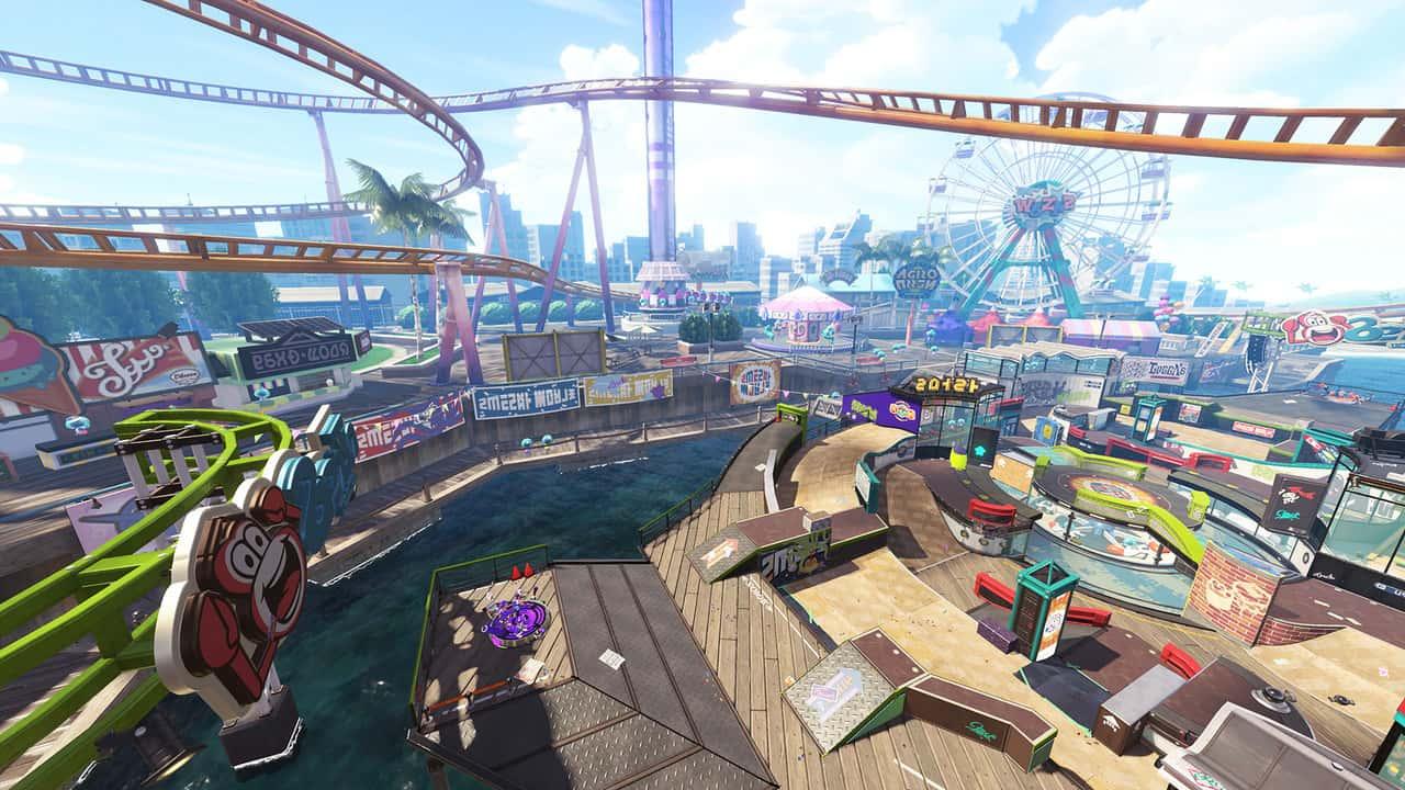 Splatoon 2 Wahoo World Screenshot 1