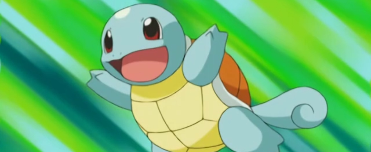 Squirtle Anime Screenshot