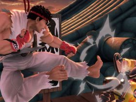 Super Smash Bros. Ultimate Ryu Suzaku Castle Screenshot