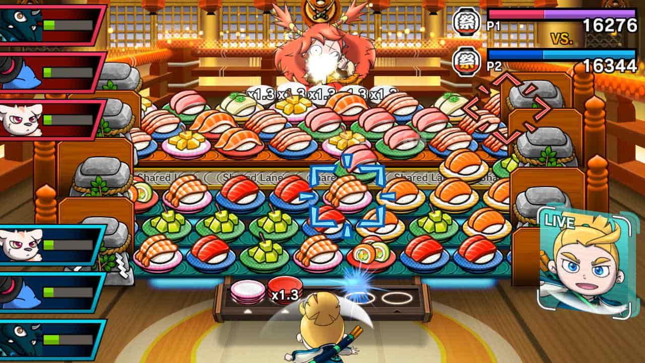 Sushi Striker: The Way Of Sushido Review Screenshot 1