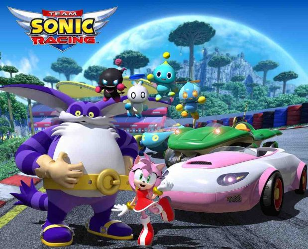 Team Sonic Racing Team Rose Artwork