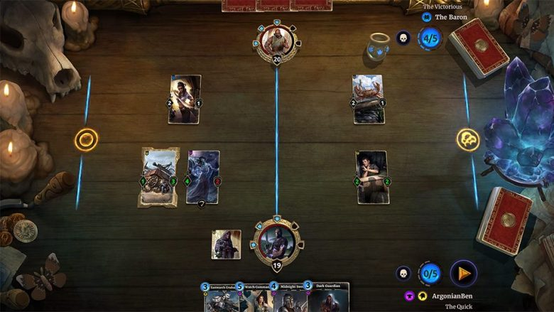 The Elder Scrolls: Legends Card Game Confirmed for Consoles