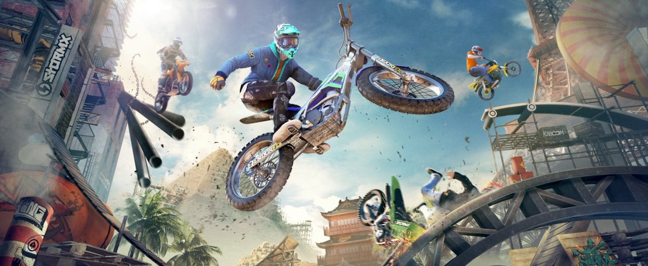 Trials Rising Artwork
