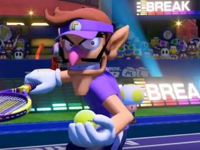 Waluigi Mario Tennis Aces Screenshot