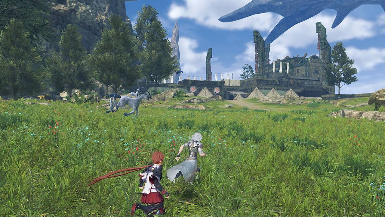 Xenoblade Chronicles 2: Torna - The Golden Country E3 2018 Screenshot 7