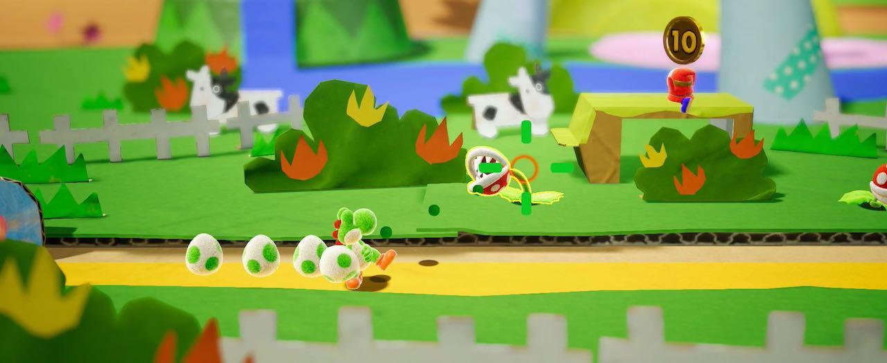 Yoshi Nintendo Switch E3 2017 Screenshot