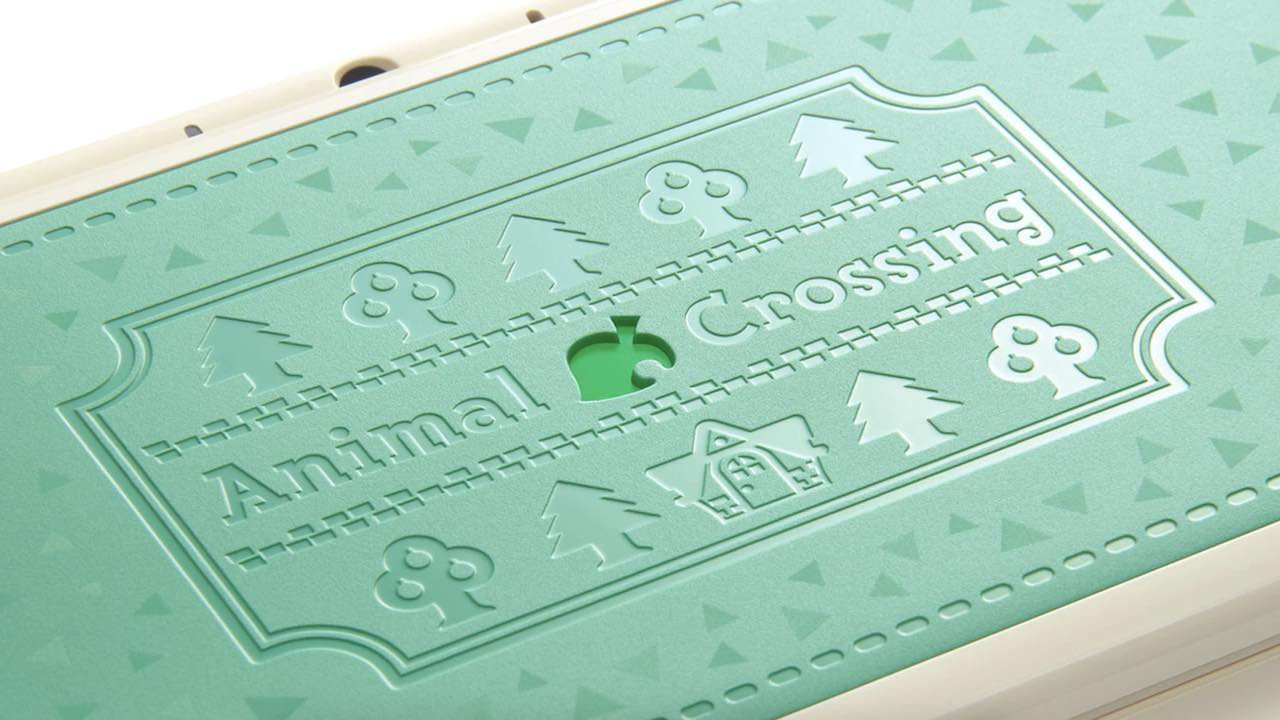 Animal Crossing New Nintendo 2DS XL Photo