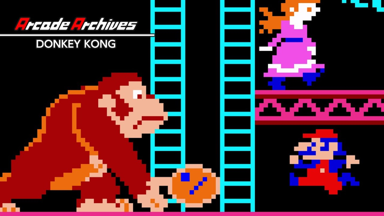 Arcade Archives Donkey Kong Review Header