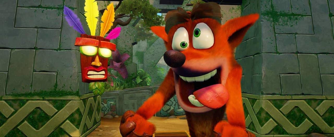 Crash Bandicoot N. Sane Trilogy Cropped Screenshot