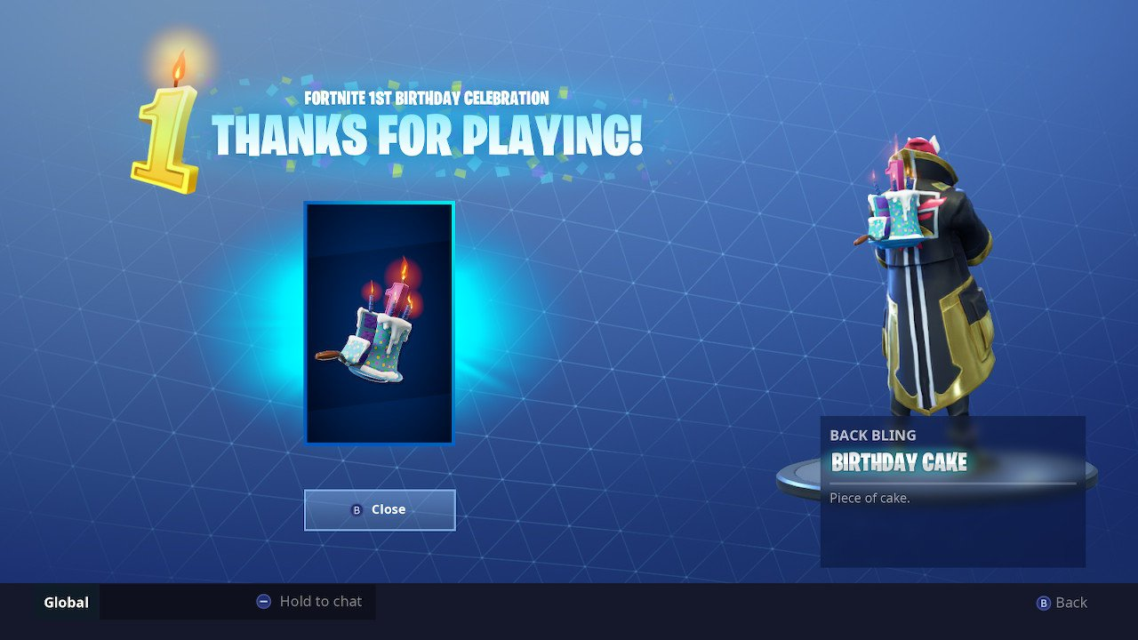Fortnite Birthday Cake Locations Dance In Front Of Different