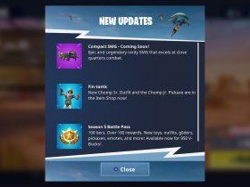 Fortnite Compact SMG Screenshot