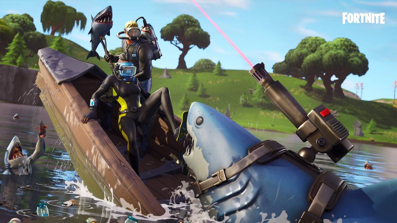 Fortnite Laser Chomp Glider Artwork