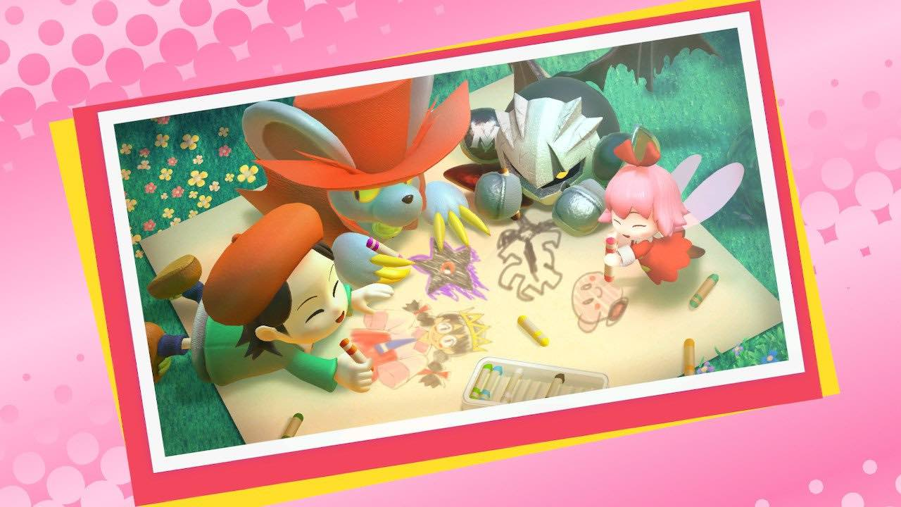 Kirby Star Allies Daroach Artwork
