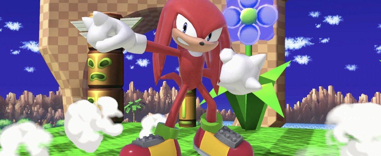 Knuckles Assist Trophy Super Smash Bros. Ultimate Screenshot