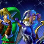Link Sheik Navi Zelda: Ocarina Of Time Artwork