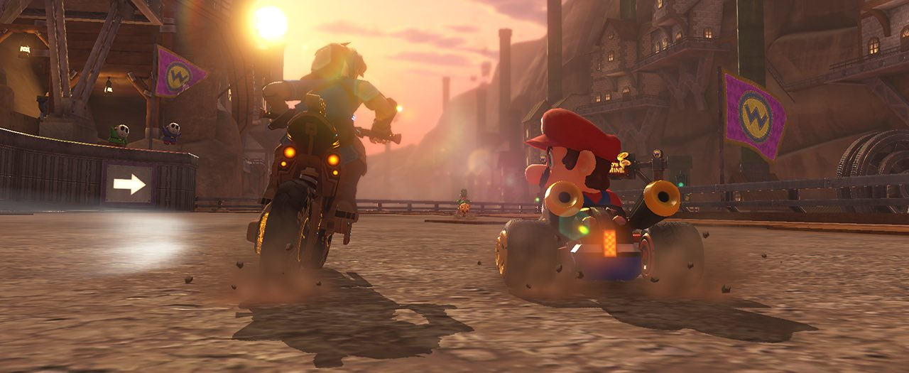 Mario Kart 8 Deluxe Update Master Cycle Zero Screenshot