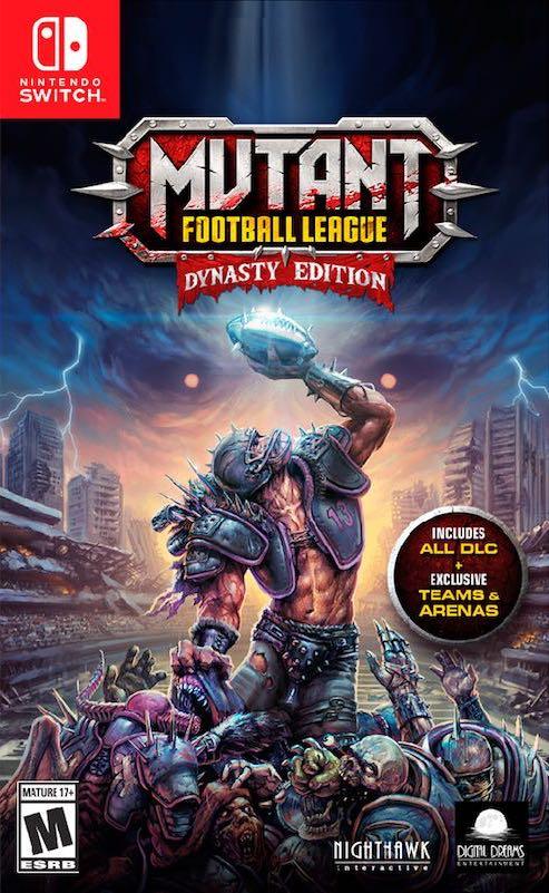 Mutant Football League: Dynasty Edition Switch Box Art