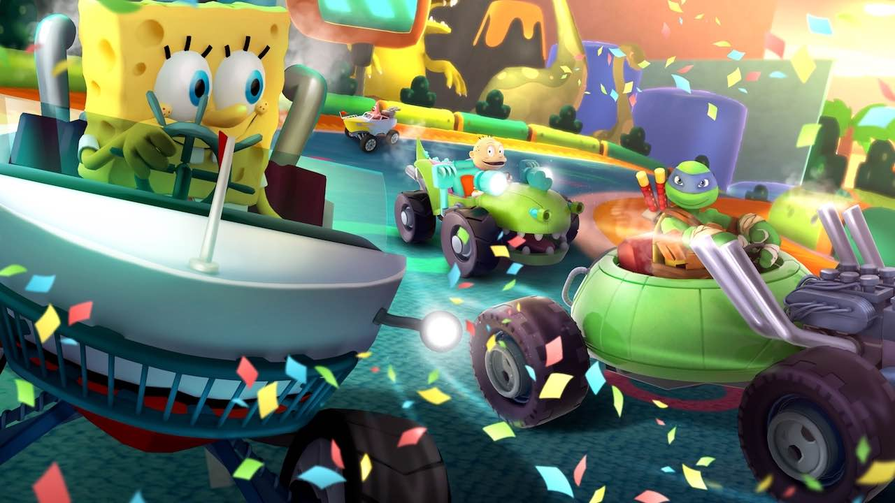 Nickelodeon Kart Racers Artwork