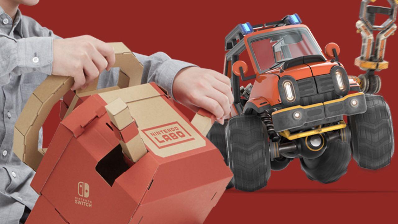 Nintendo Labo Toy-Con 03: Vehicle Kit Photo