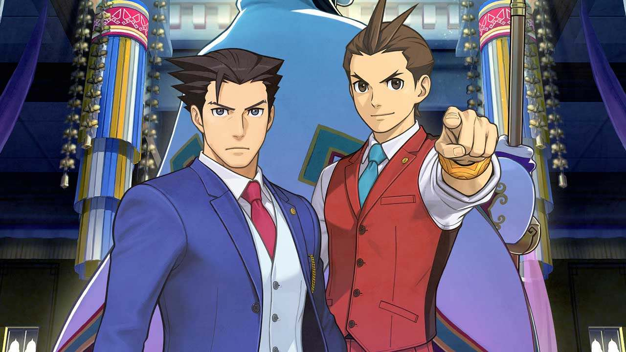 Phoenix Wright: Ace Attorney Spirit of Justice Artwork
