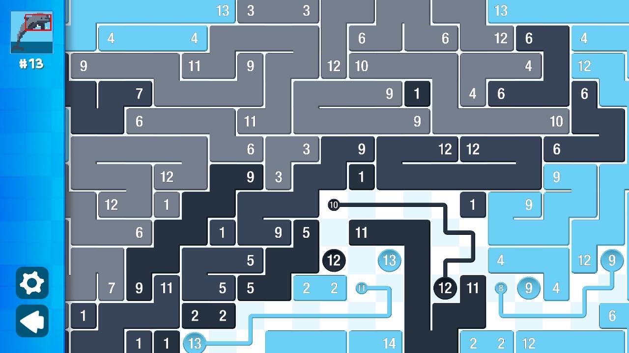 Piczle Lines DX 500 More Puzzles Screenshot