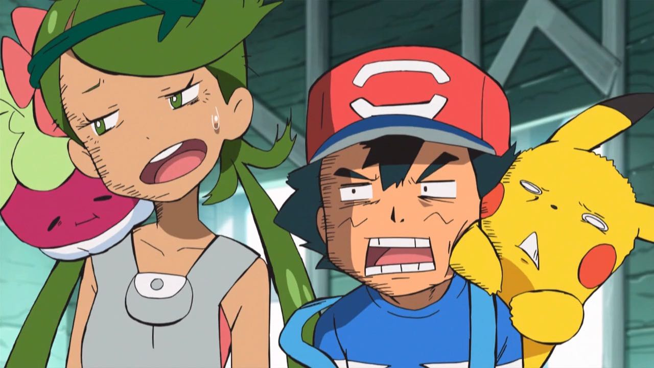 Pokémon Anime Embarrassed Screenshot