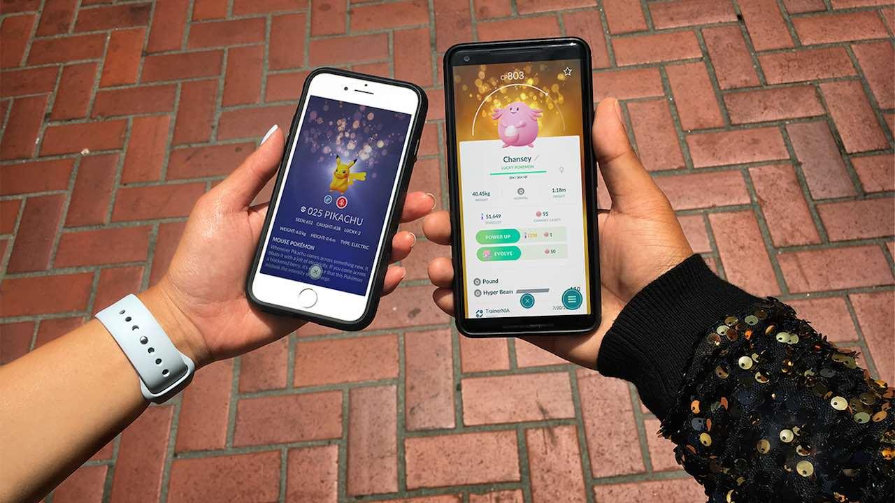 Pokémon GO Lucky Pokémon Screenshot