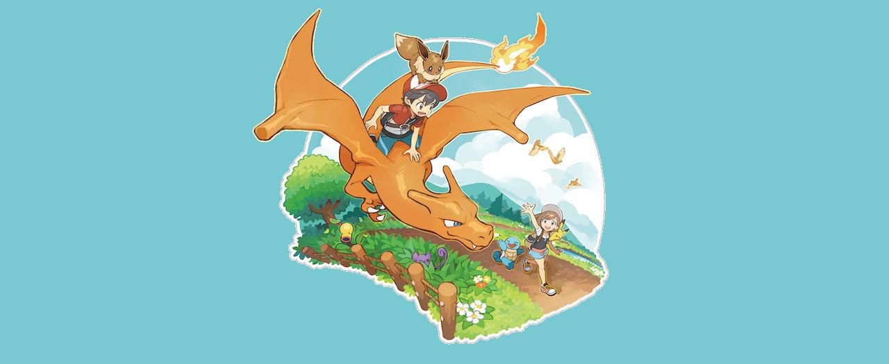 Pokémon: Let's Go Charizard Artwork