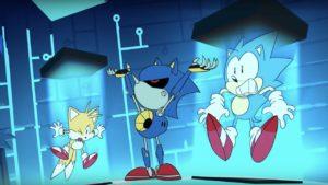 Sonic Mania Adventures Metal Sonic Screenshot