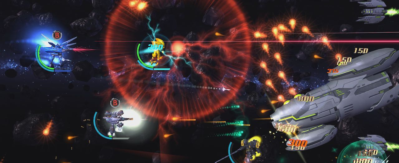 Stardust Galaxy Warriors: Stellar Climax Screenshot
