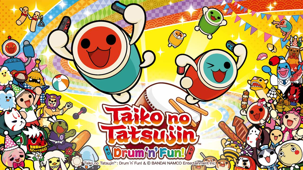 Taiko No Tatsujin: Drum 'N' Fun! Artwork