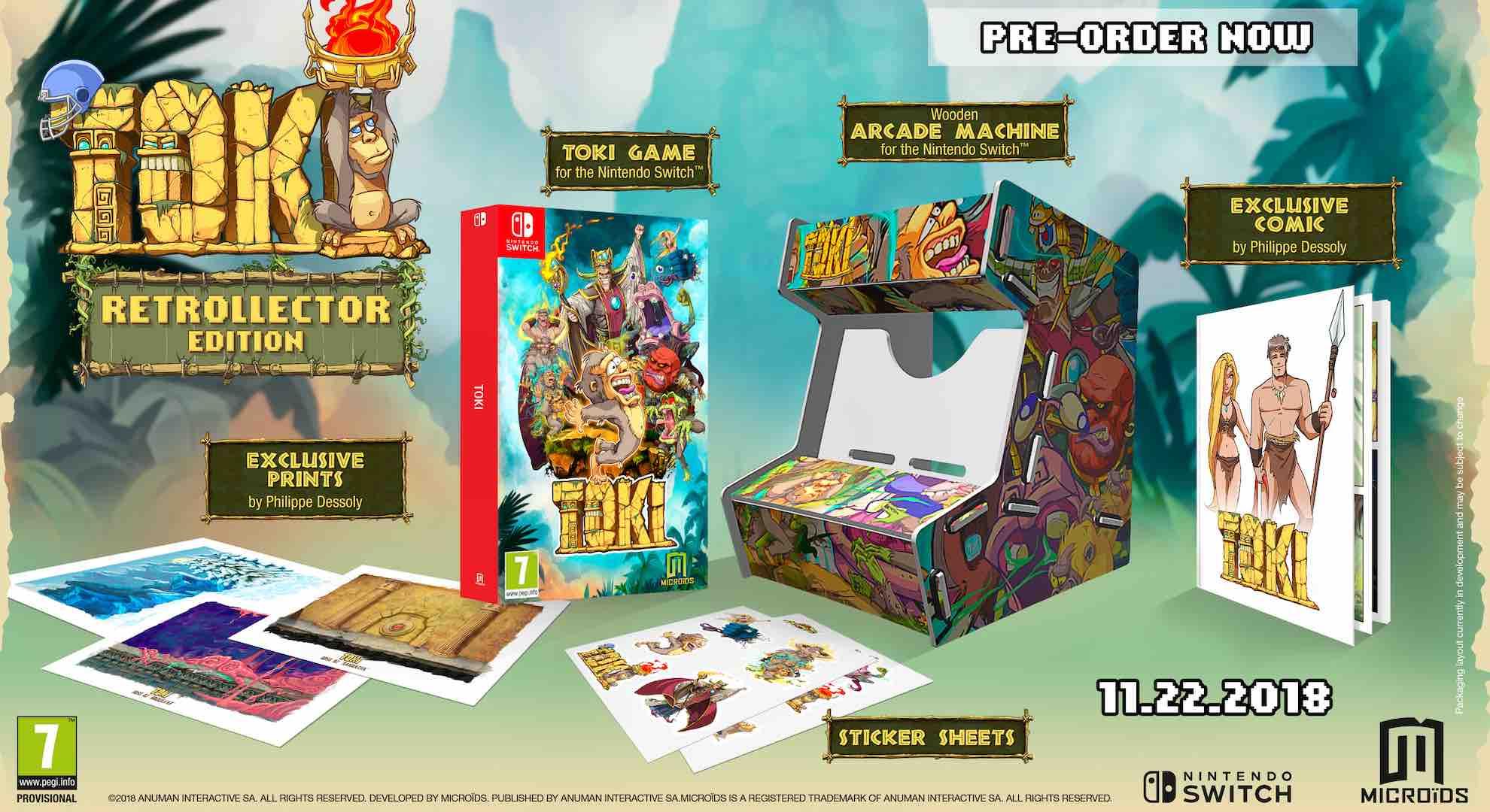 Toki Retrollector Edition Pack Shot