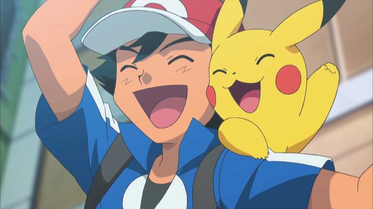 Ash Ketchum Pikachu Screenshot