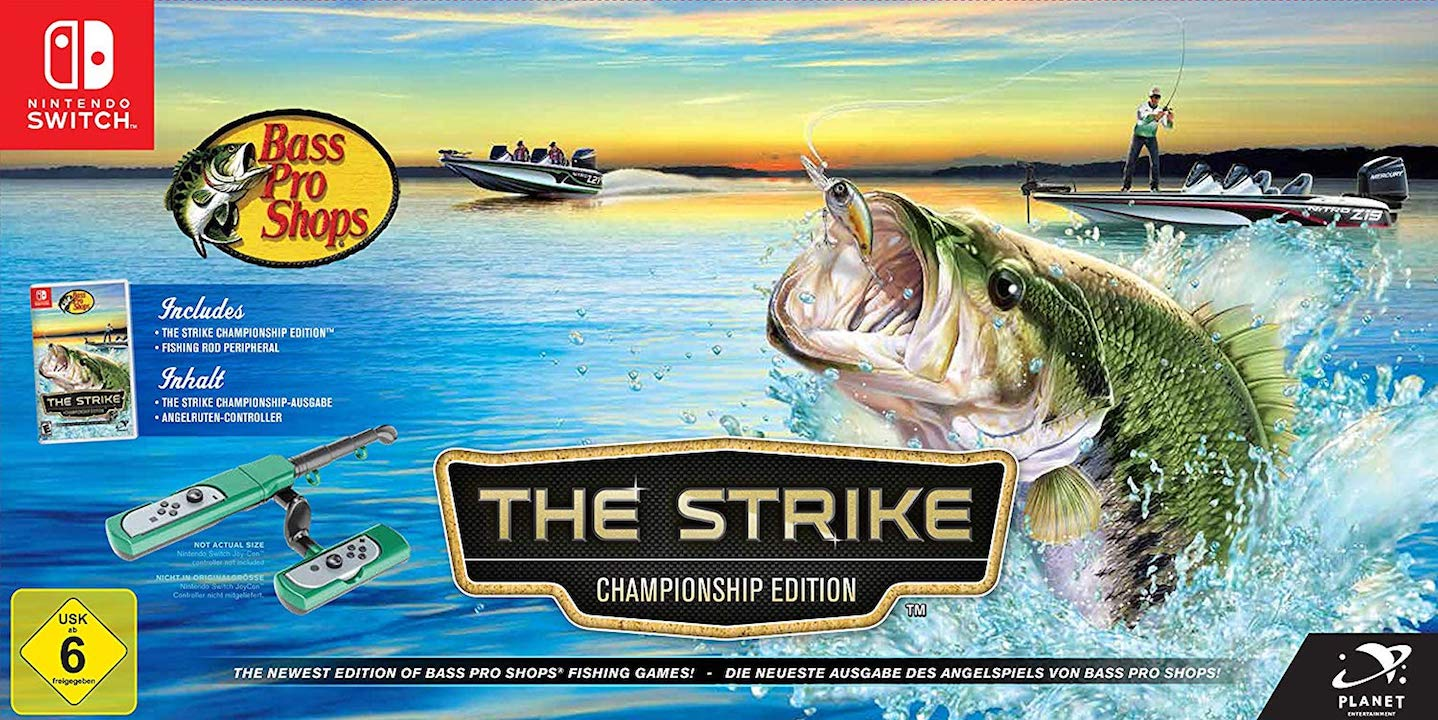 Bass Pro Shops: The Strike - Championship Edition Switch Box Art
