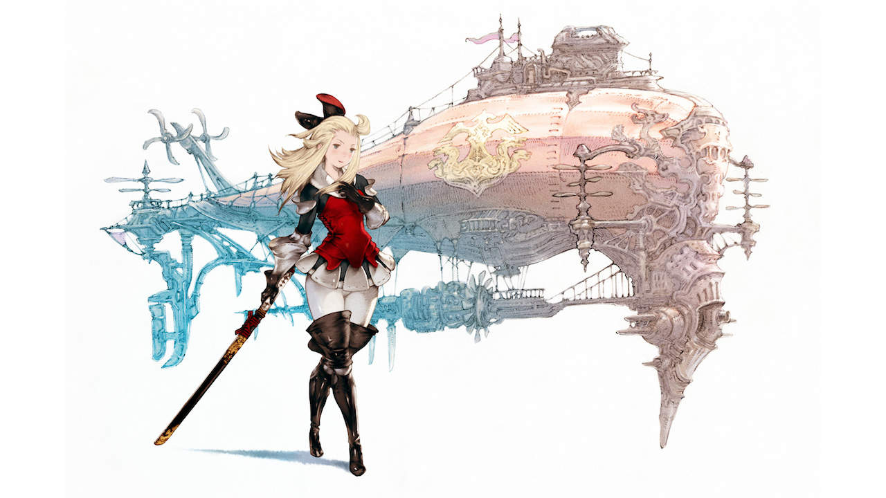 Edea Bravely Default Artwork