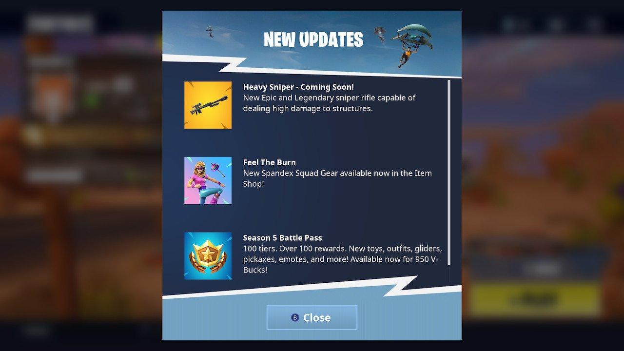 Fortnite Heavy Sniper Screenshot
