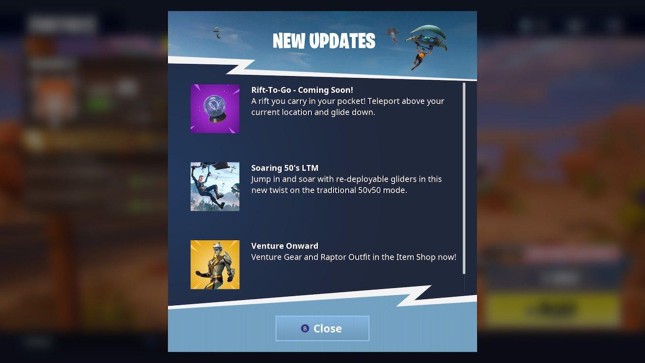Fortnite Rift-To-Go Screenshot