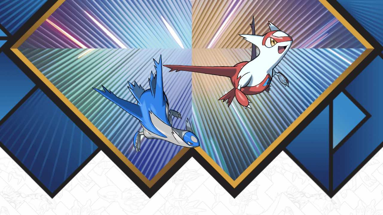 Latias Latios Distribution Event Artwork
