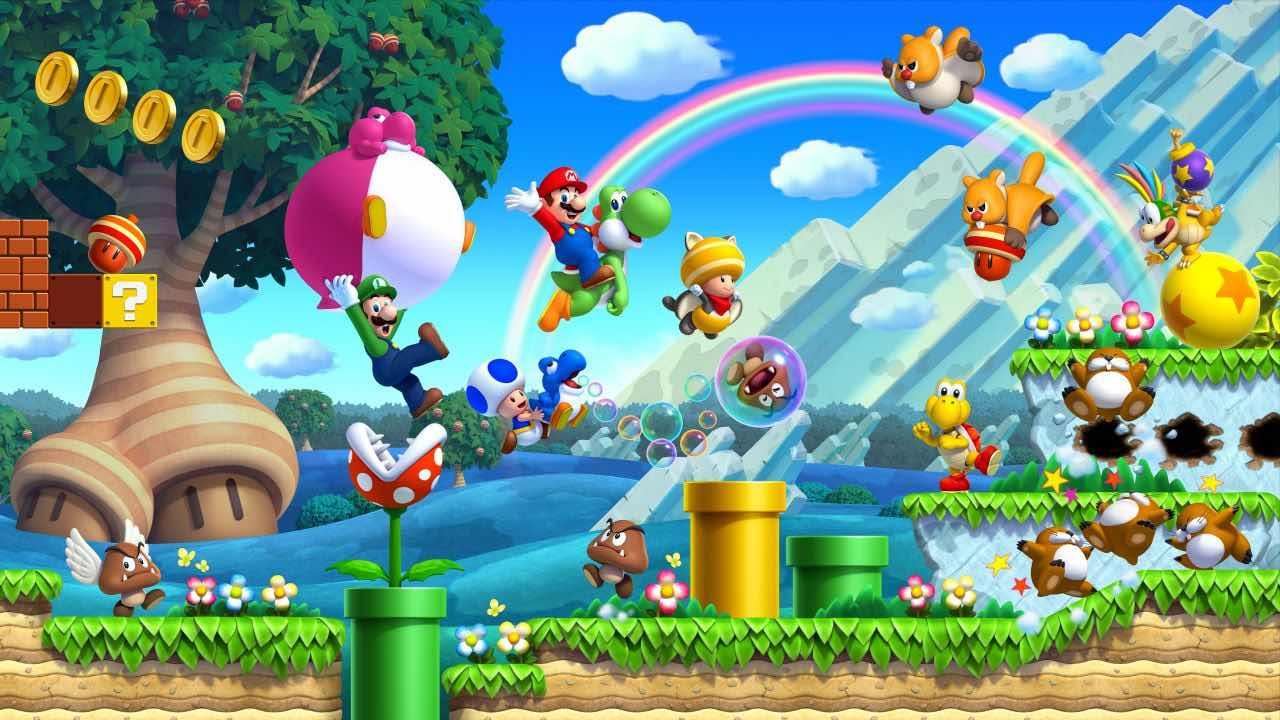 New Super Mario Bros. U Deluxe Artwork