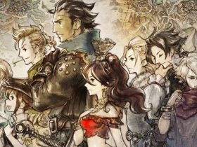 Octopath Traveler Key Art