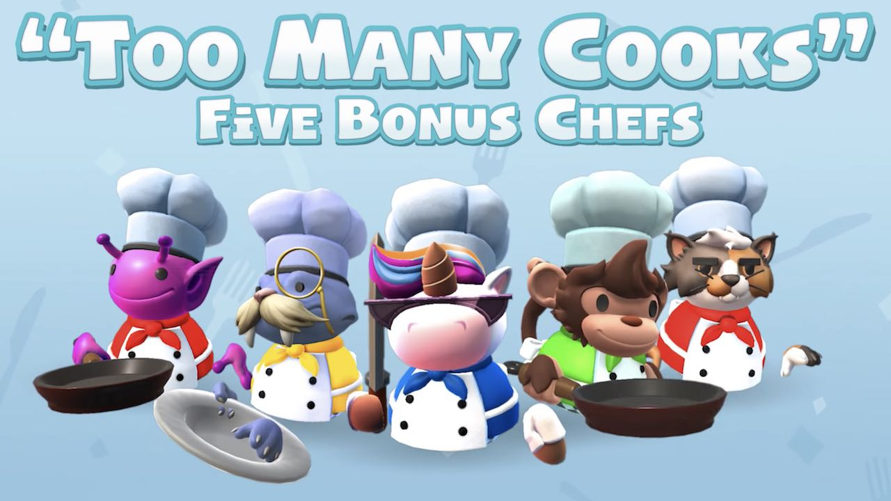 Overcooked 2 Too Many Cooks Pack Screenshot