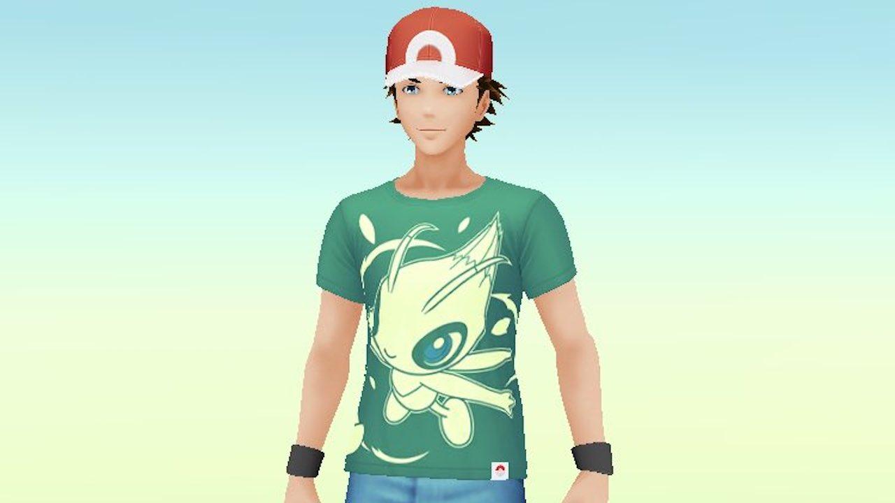 Pokémon GO Celebi Shirt Screenshot