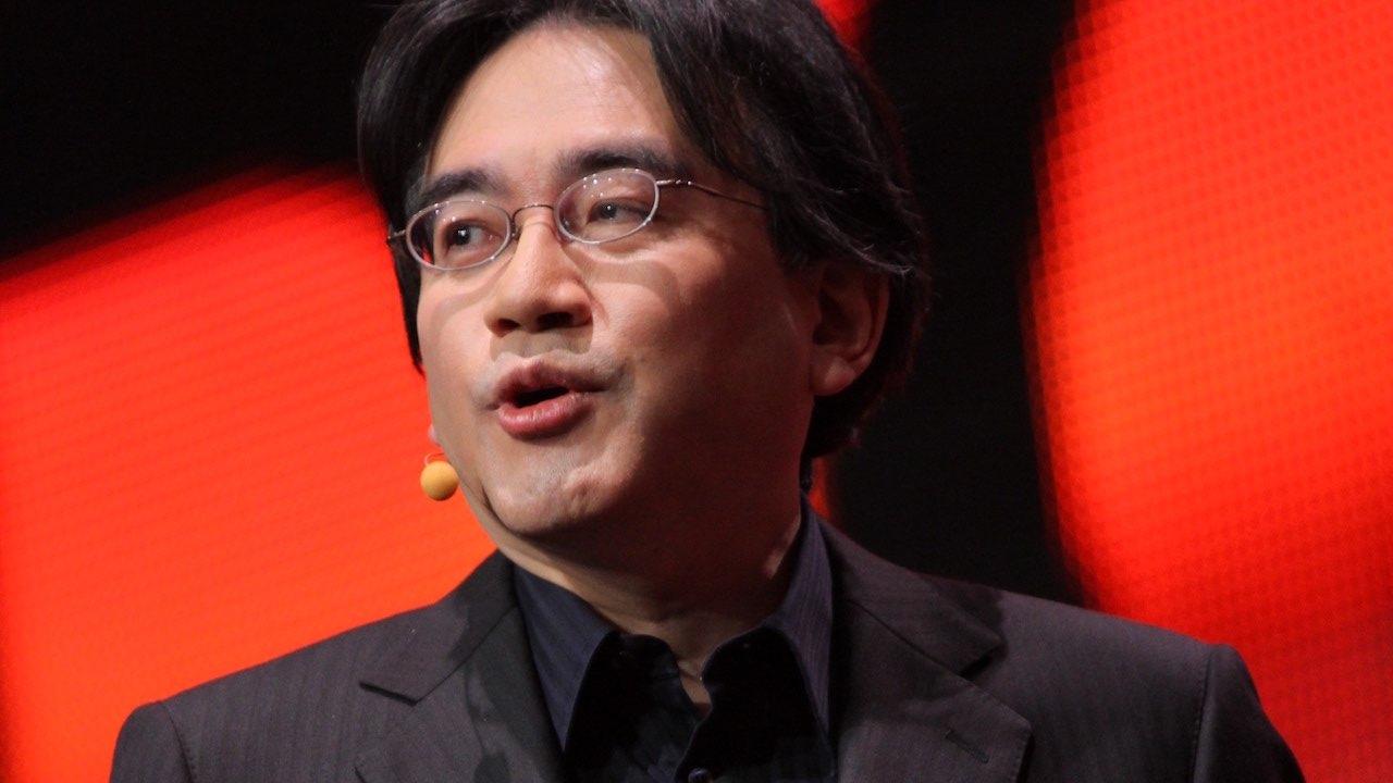 Satoru Iwata GDC 2011 Photo